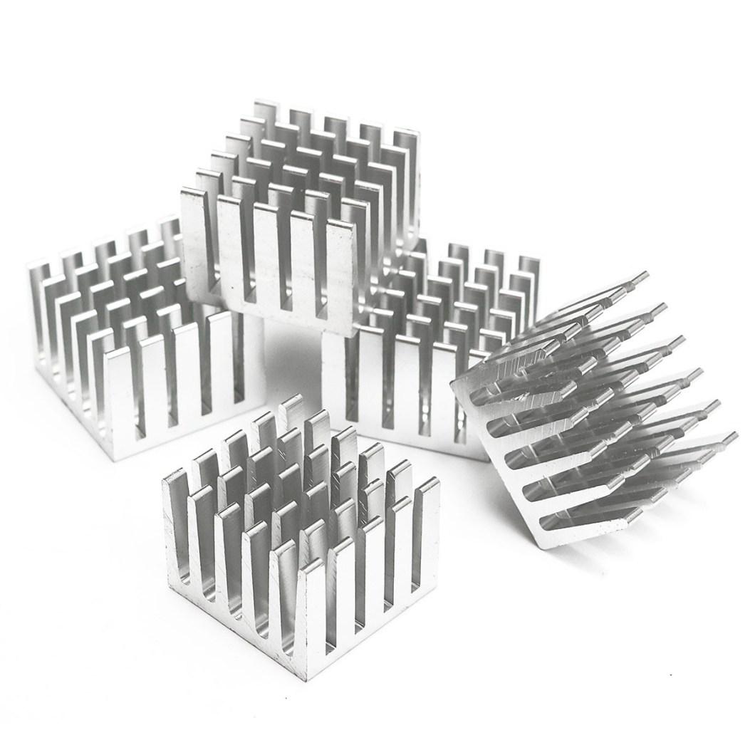 20pcs 20x20x15mm DIY CPU IC Chip Heat Sink Extruded Cooler Aluminum Heat Sink 23