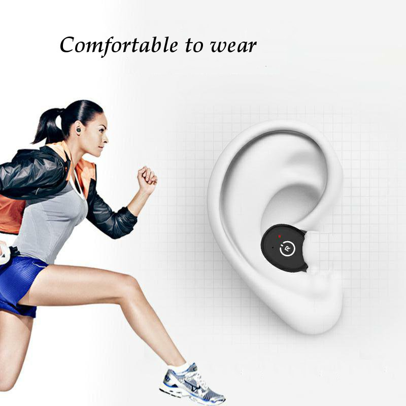 [Bluetooth 5.0] Wireless Earphone TWS HIFI IPX8 Waterproof Noise Cancelling Sport With Charging Case 18