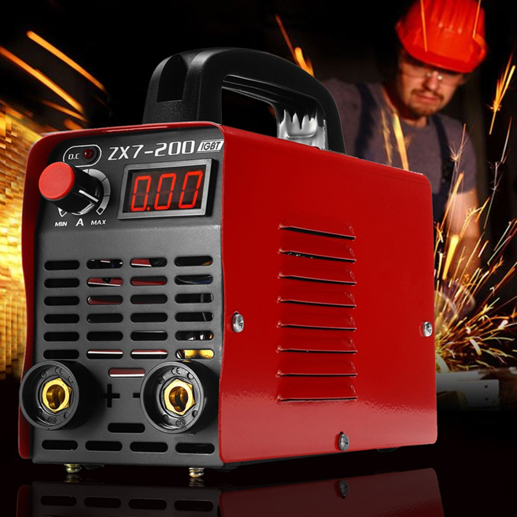 ZX7-200 220V Handheld Mini MMA Electric Welding Tool Digital 20-200A Inverter ARC Welding Machine 33