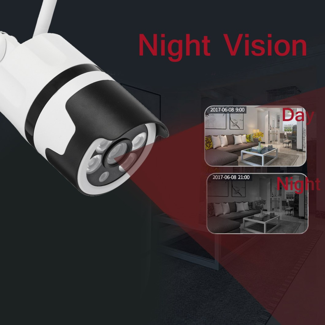 1080P 2MP WiFi Home Security IP Camera Motion Detection Night Vision For Alexa Echo 11
