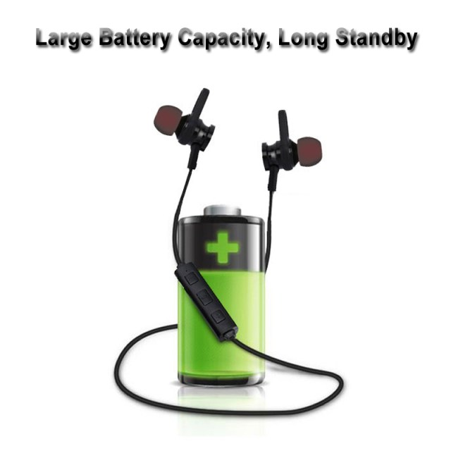 Bakeey™ RS-01 Magnet Wireless Bluetooth Earphone Bass Sports Headphone for iPhone X 8 Samsung Xiaomi