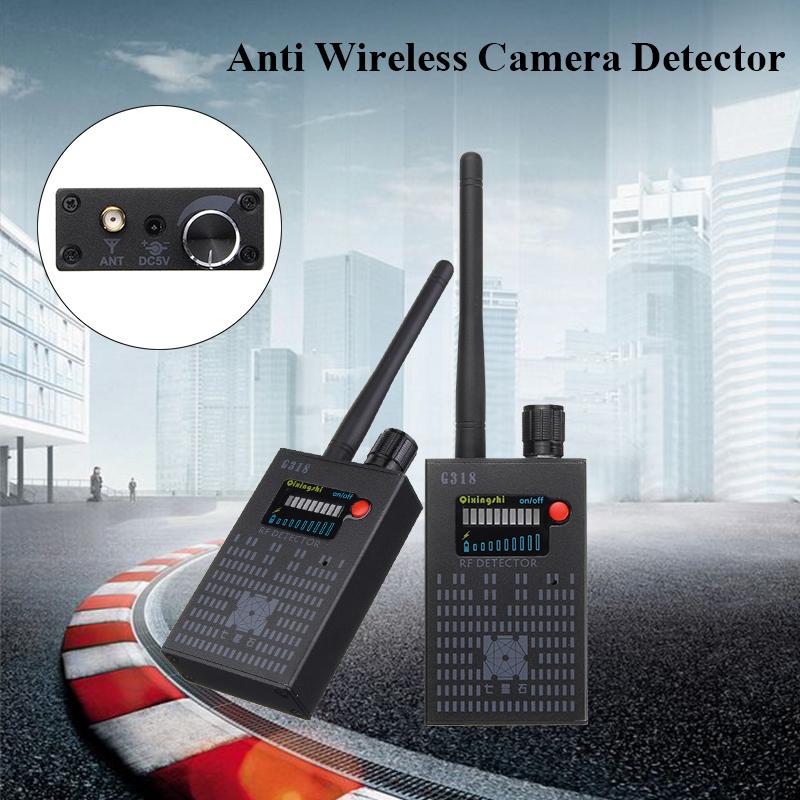 Signal Detector Anti-Spy Hidden Camera GPS RF Bug Lens Audio Tracker Finder  Detector