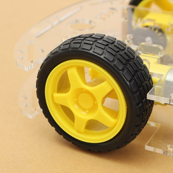 3Pcs Geekcreit® 4WD Smart Robot Car Chassis Kits With Strong