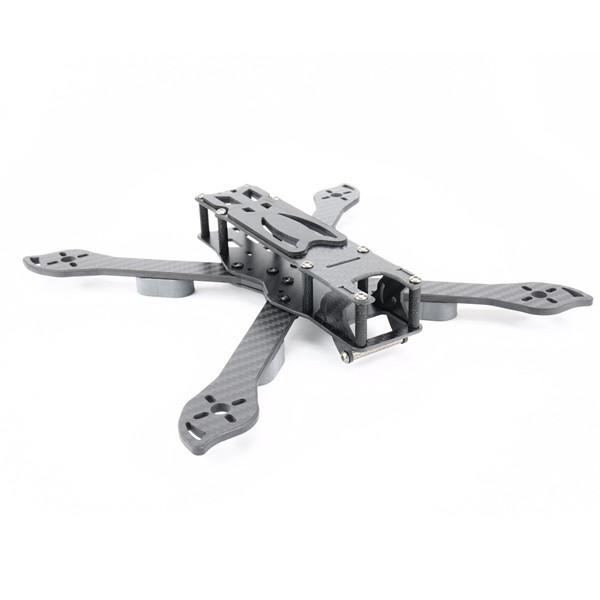 PUDA D240 240mm 4mm Braccio 3K Fibra di carbonio Durevole True X Type Frame Kit per RC Drone
