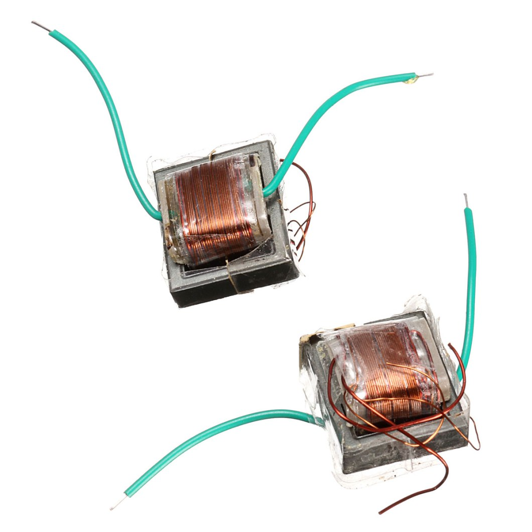 10Pcs 10KV High Frequency High Voltage Transformer Booster Coil Inverter 33