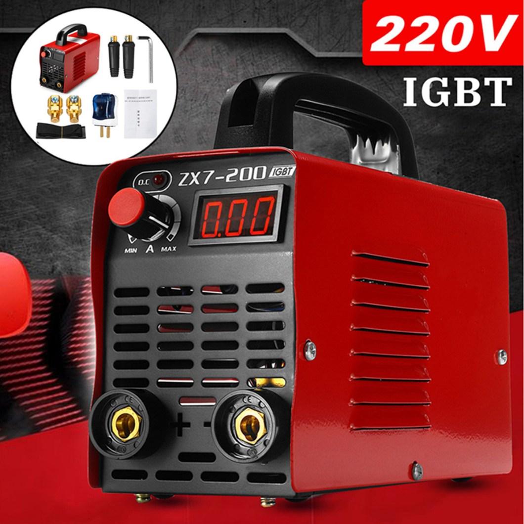 ZX7-200 220V Handheld Mini MMA Electric Welding Tool Digital 20-200A Inverter ARC Welding Machine 32