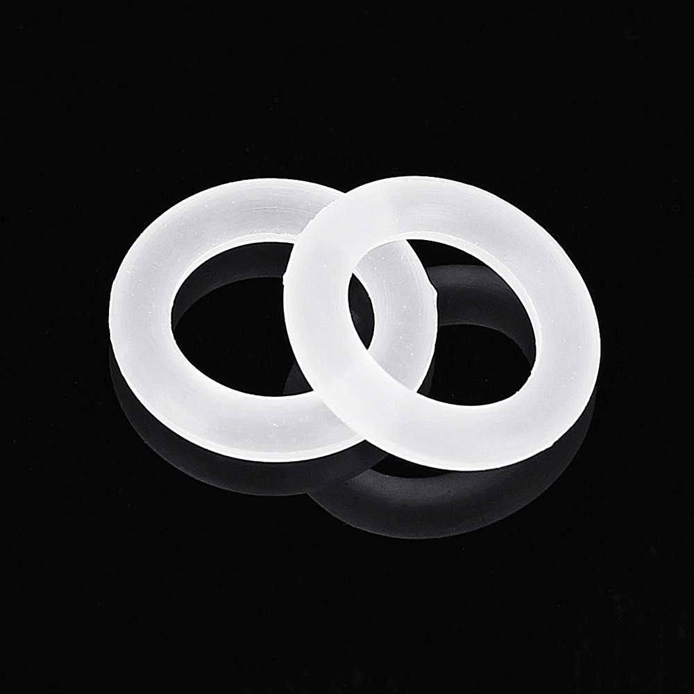 150pcs White Rubber O-Ring For Cherry MX Switch Mechanical Keyboard 8