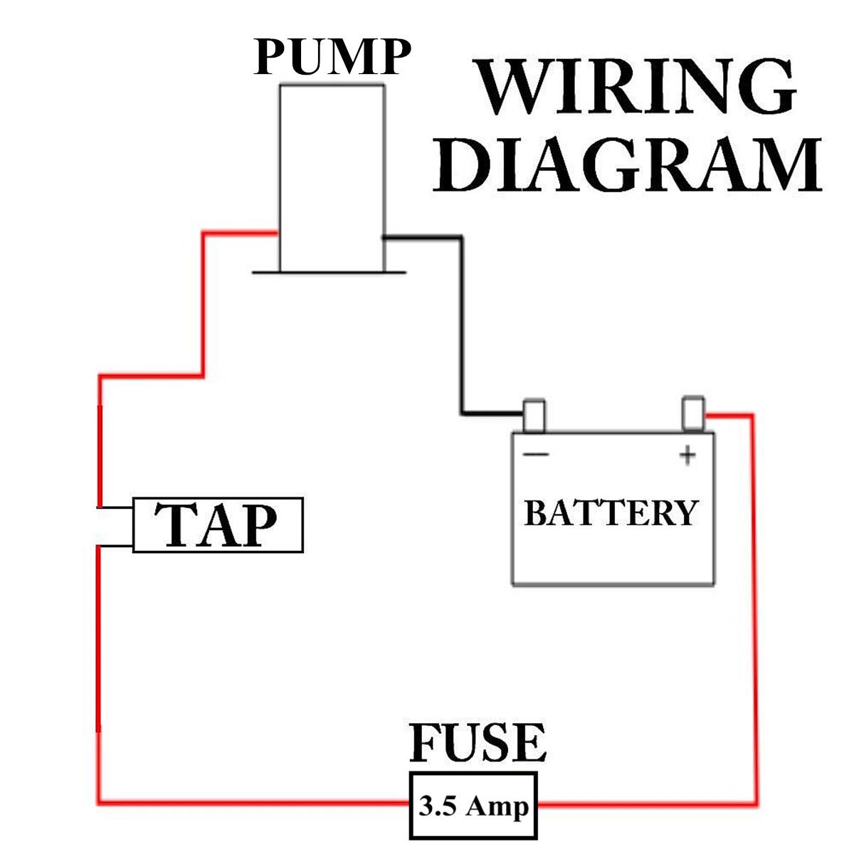 Rv Water Pump Wiring Diagram