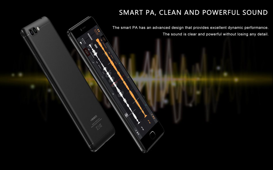 Meiigoo M1 5.5 Inch Dual Rear Cameras Fingerprint 6GB RAM 64GB ROM MTK6757 Helio P20 2.3GHz Octa-Core 4G Smartphone