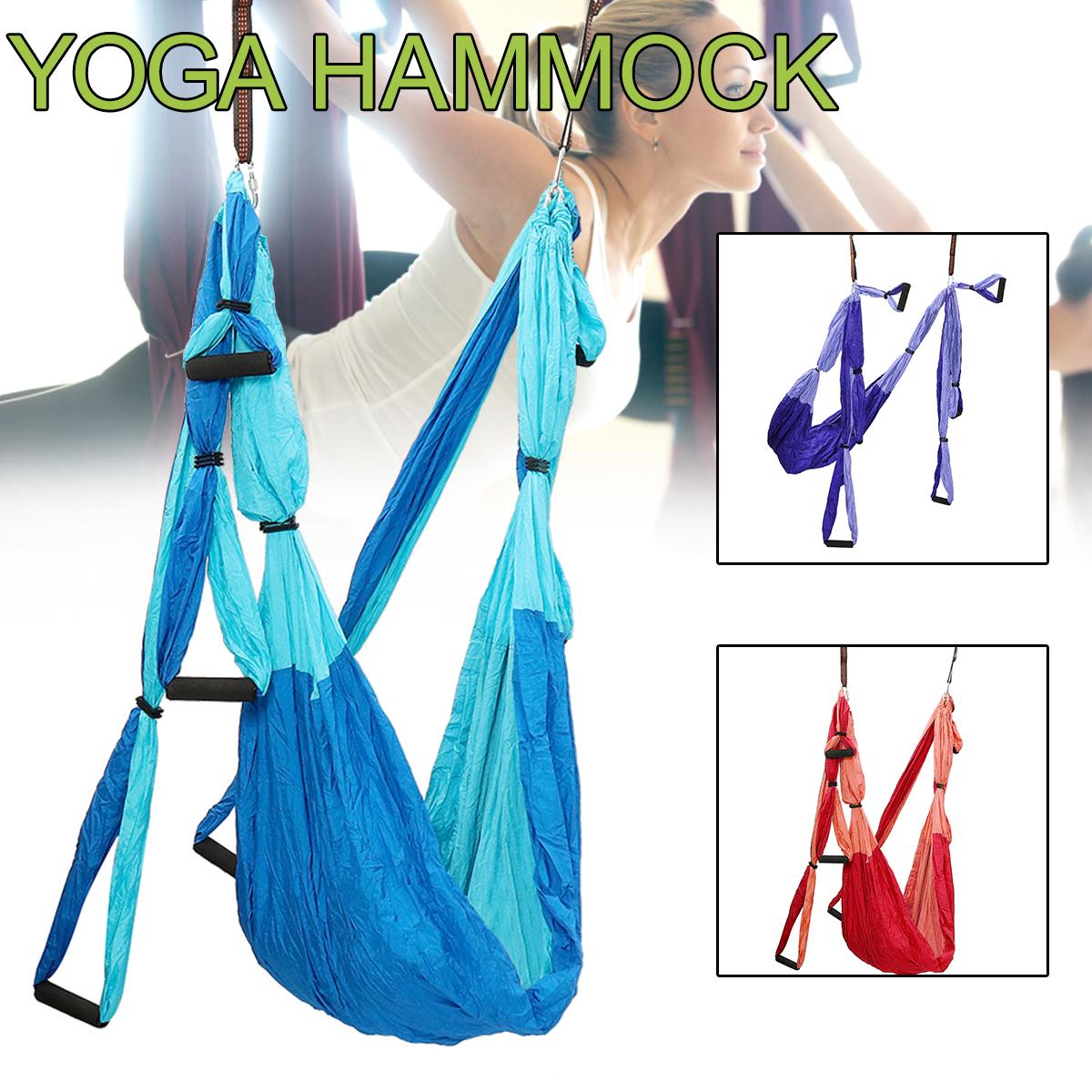Yoga Hammock Decompression Aerial Yoga Swing Yoga Silk At