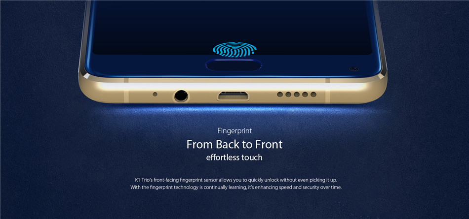 KOOLNEE K1 Trio 6.01 Inch 4200mAh Android 7.1 6GB RAM 128GB ROM MT6763 Octa Core 2.0GHz 4G Smartphone