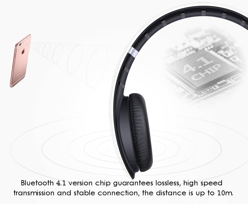 Ovleng S66 On-ear Sport Noise Reduction HiFi Stereo Heavy Bass Bluetooth Headphone With Mic 17