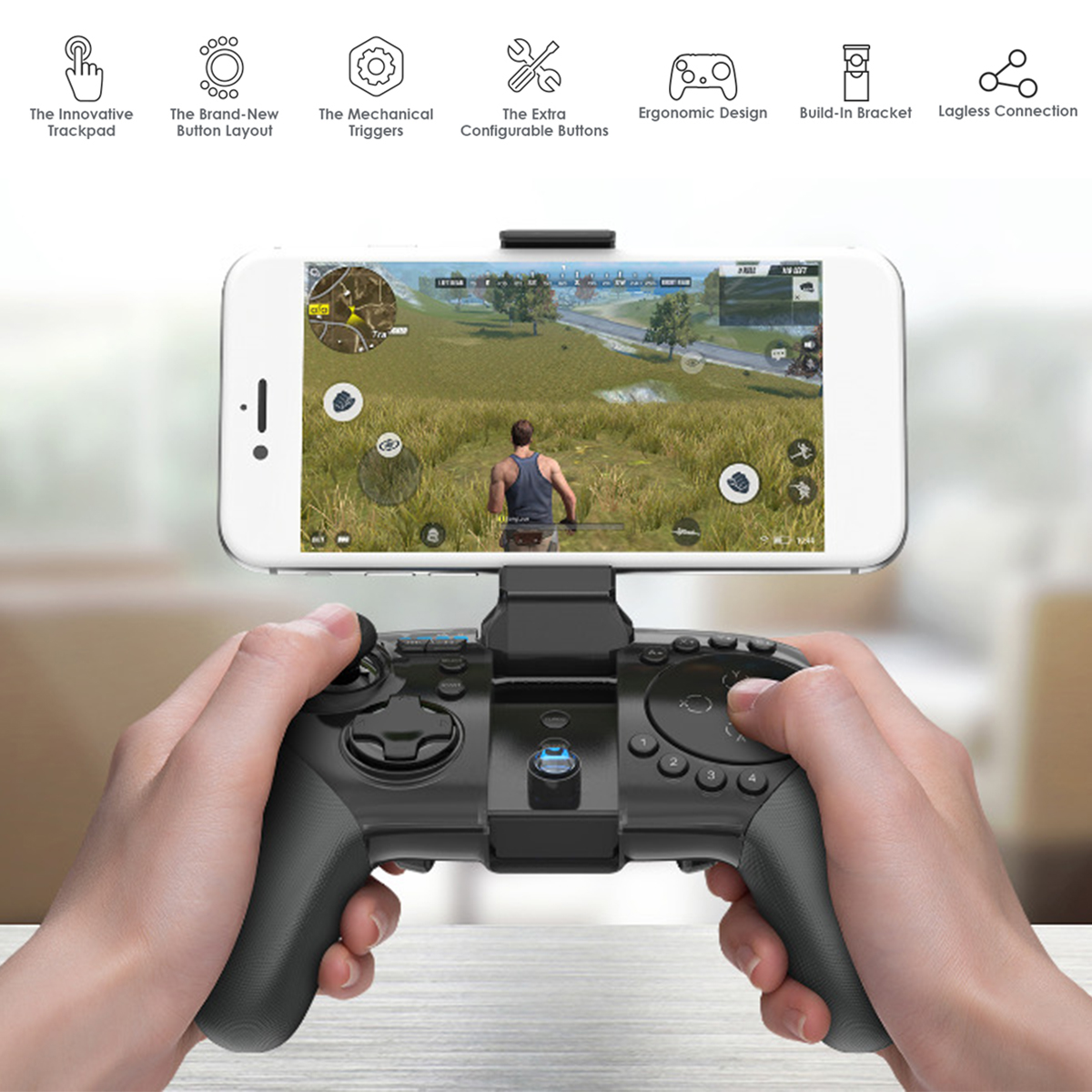 3Pcs Gamesir G5 Bluetooth Wireless Trackpad Touchpad Gamepad Mouse Keyboard  Converter