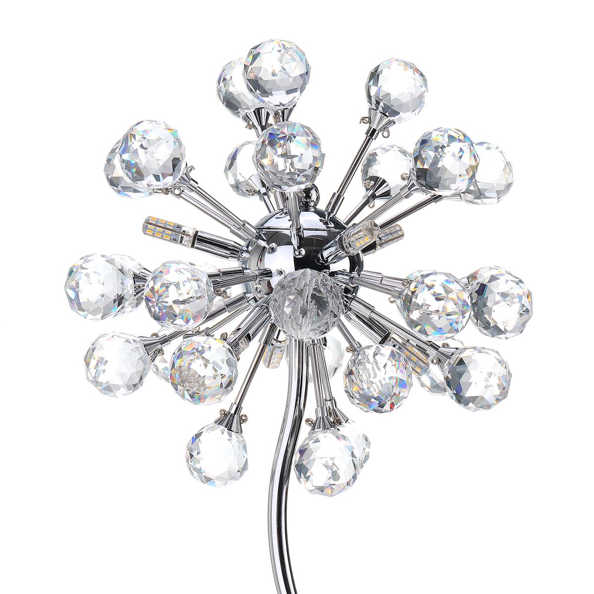 Modern Crystal Ball Led Table Light Desk Lamp Reading Home