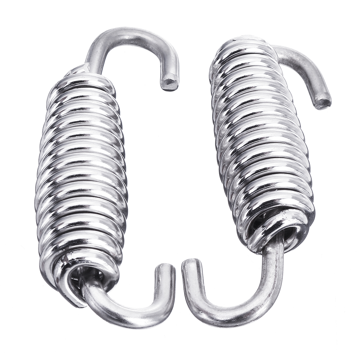 2pcs 400mm Stainless Steel Exhaust Muffler Springs