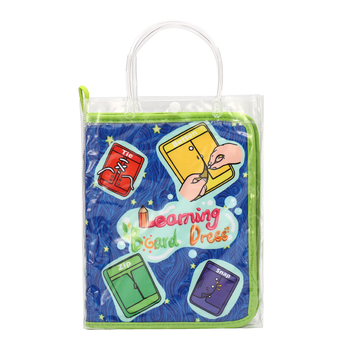 Montessori Learn Dress Boards Quick Book Early Learning Basic Life Skills Toys Sale