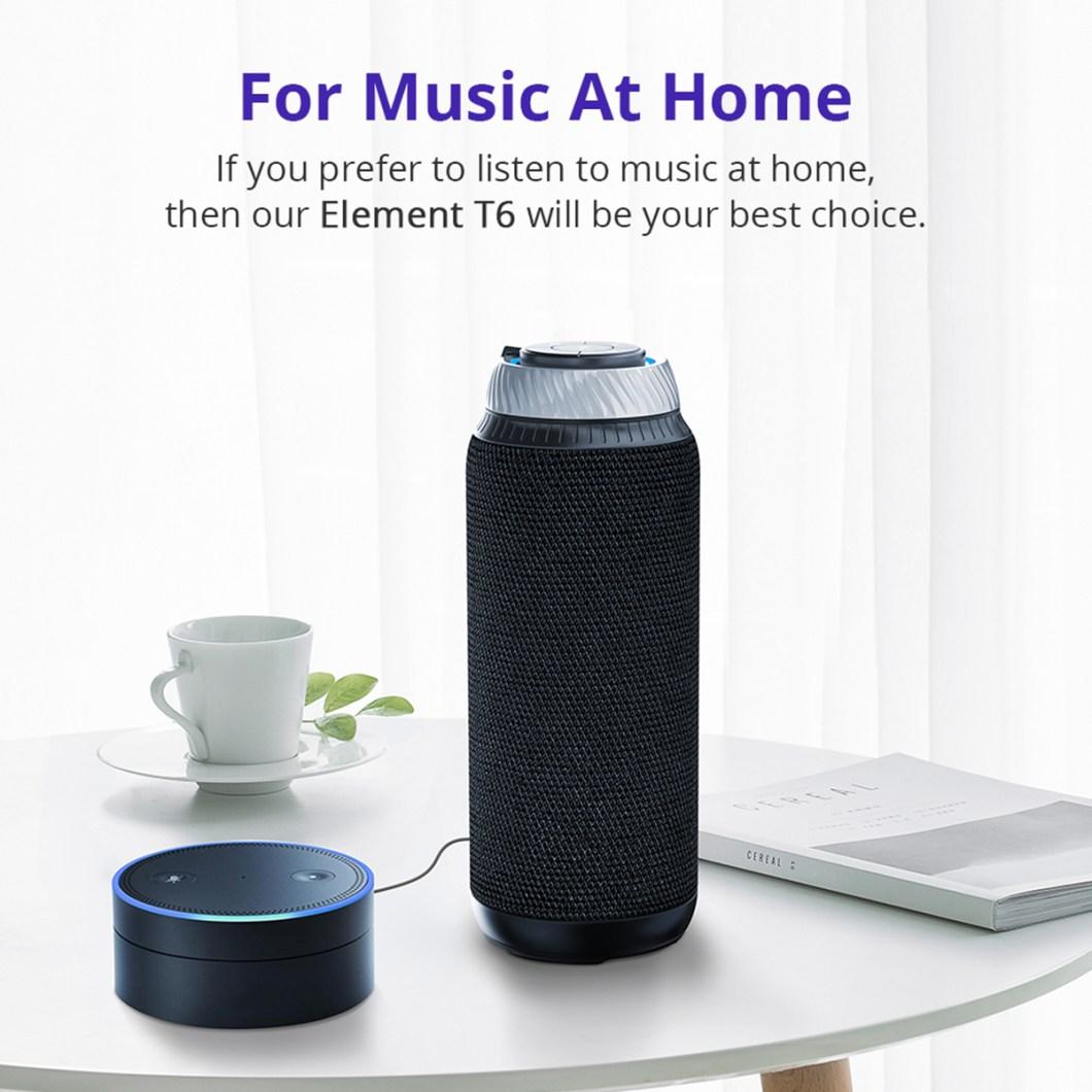 Tronsmart Element T6 Portable Wireless Bluetooth Speaker 5200mAh Stereo Outdoors Speaker 12