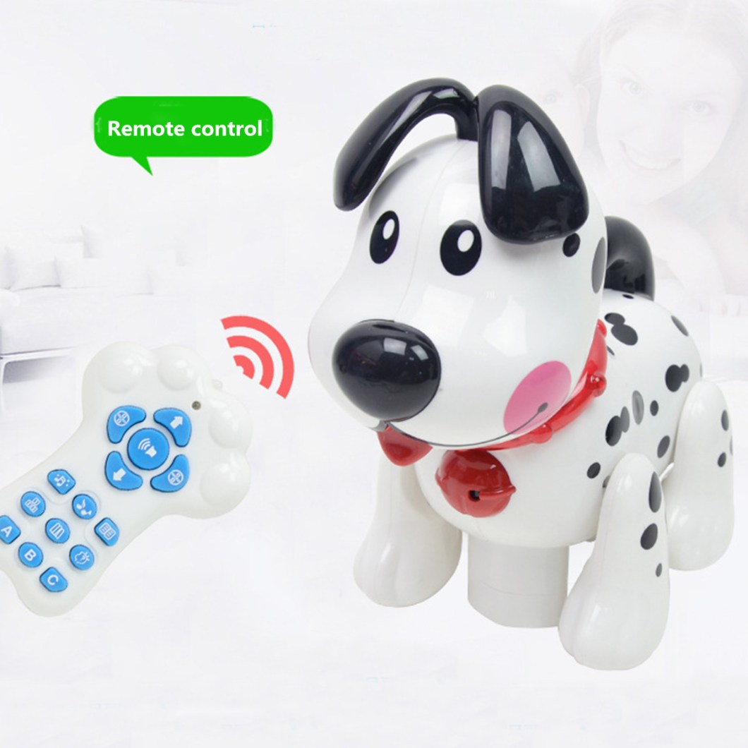 Smart Storytelling Robot Dog Sing Dance Walking Talking Dialogue pet Toy IR RC 37