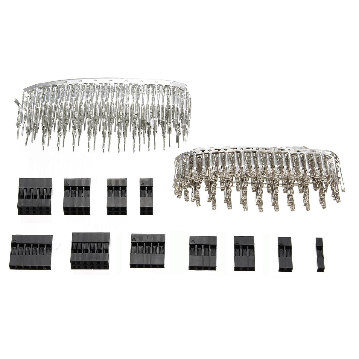 Excellway Tc10 620pcs Wire Jumper Pin Header Connector Housing Kit For Dupont And Crimp Pins