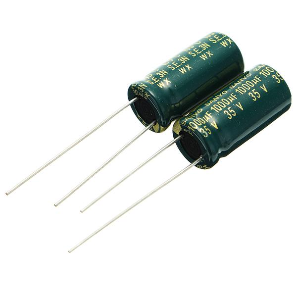 20pcs 35V 1000UF condensatore elettrolitico ROHS 10 x 20mm di alimentazione della scheda madre con condensatore ad alta frequenza LCD