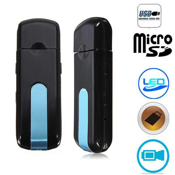Mini DVR U8 USB Disk Hidden Pinhole Camera Video Recorder