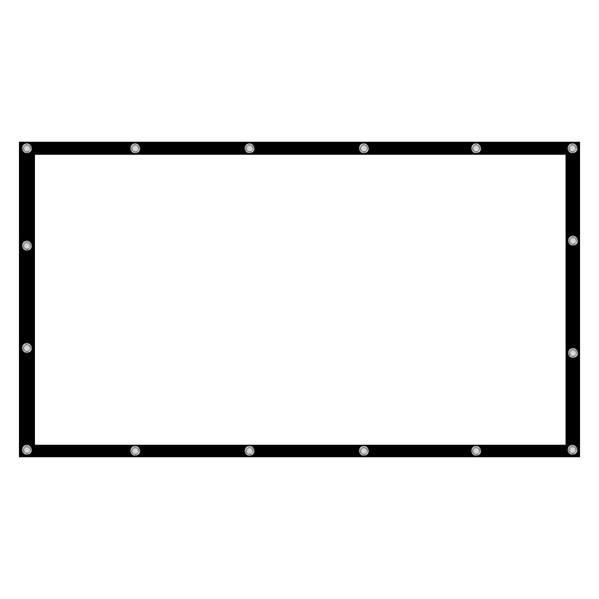 60 77 100 120 136 Inch 16 9 Projector Screen Home