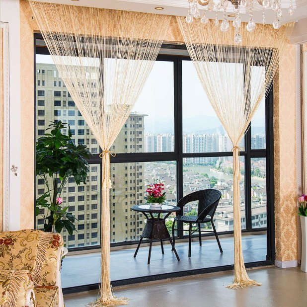 Beaded Fly Curtains For French Doors Decoratinghome