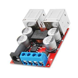 3pcs DC8V-35V To 5V 8A Power Step Down Module 4-Port USB Mobile Phone Car Charger