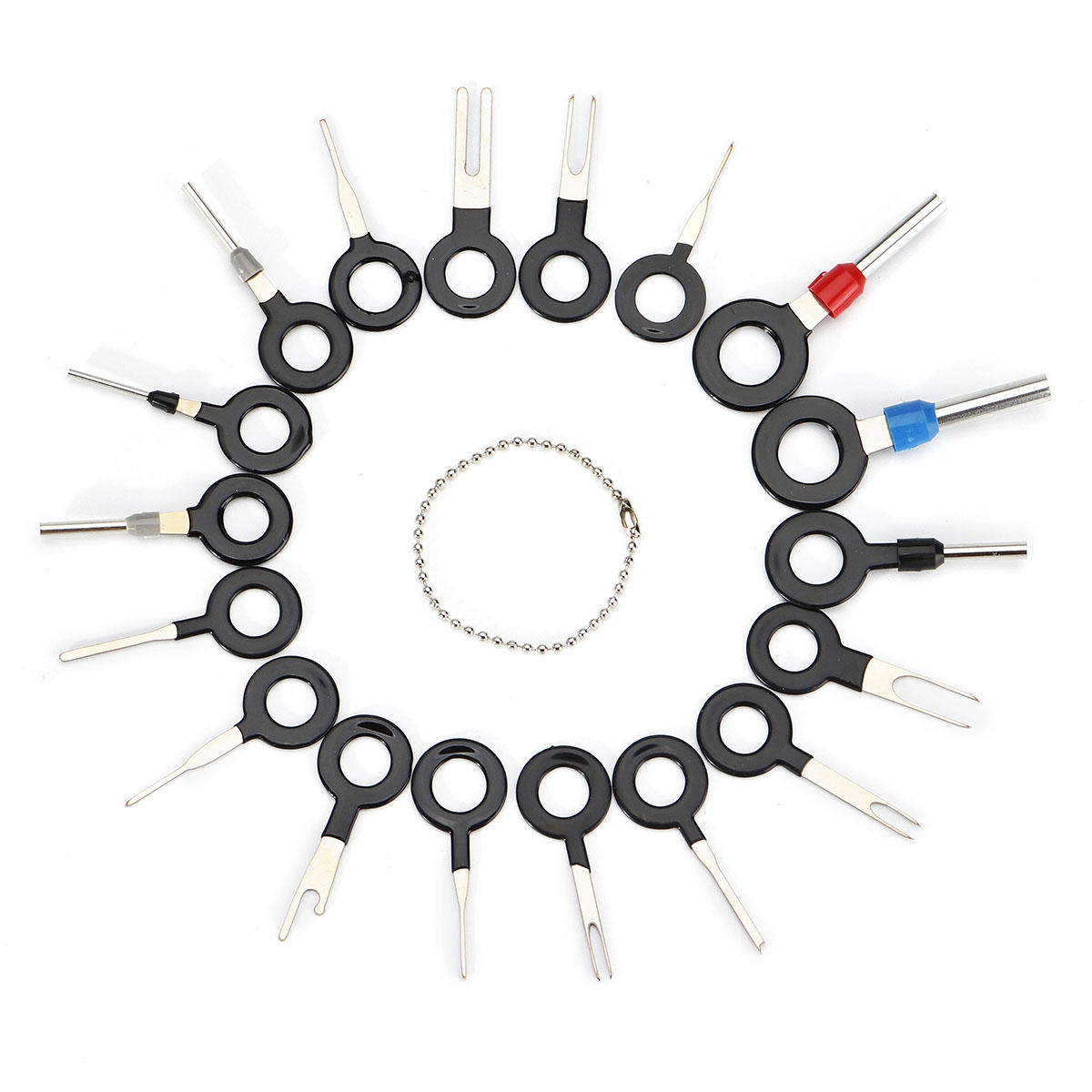 18pcs Terminal Removal Tool Kit Wiring Connector Pin