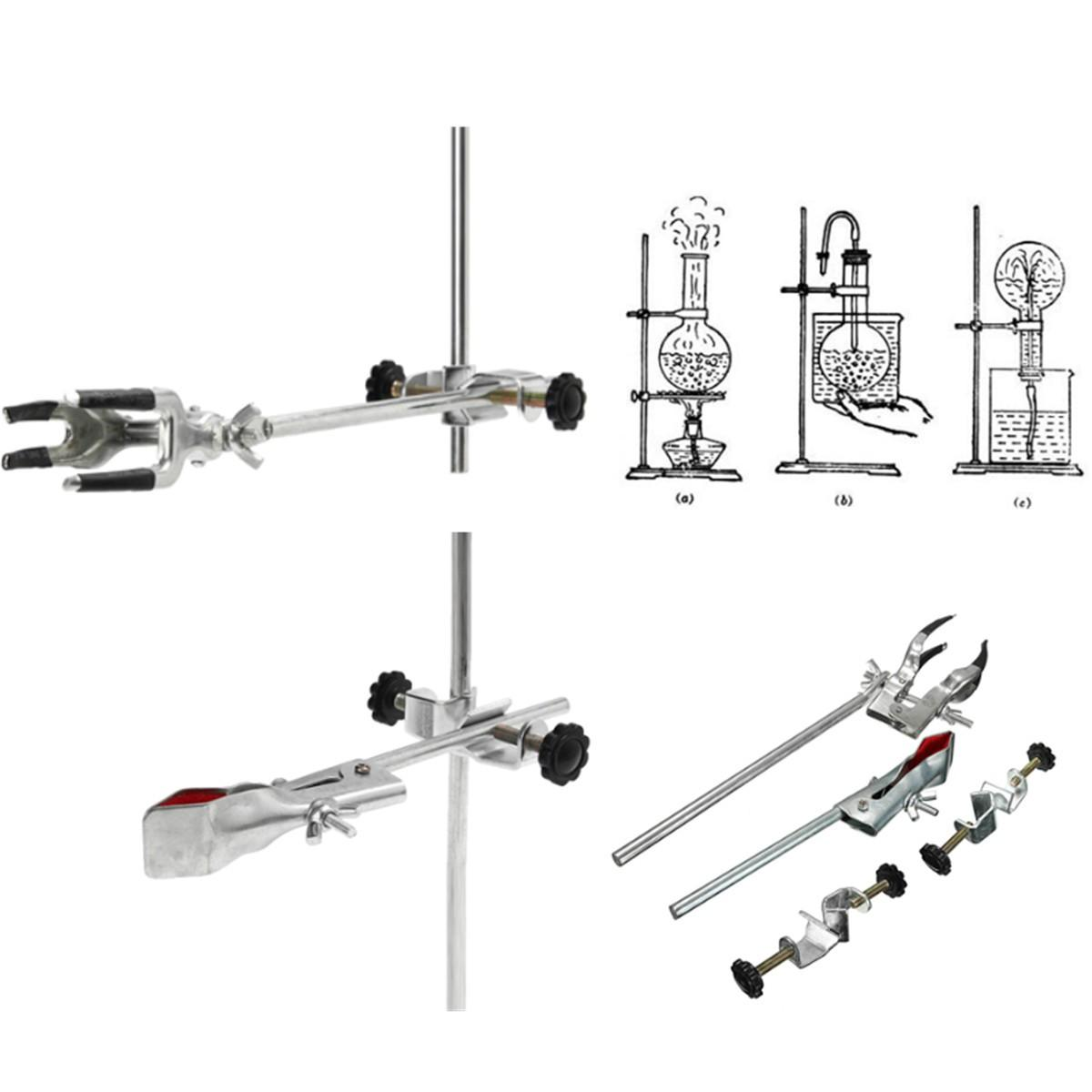 Laboratory Stands Support Lab Clamp Flask Clamp Condenser