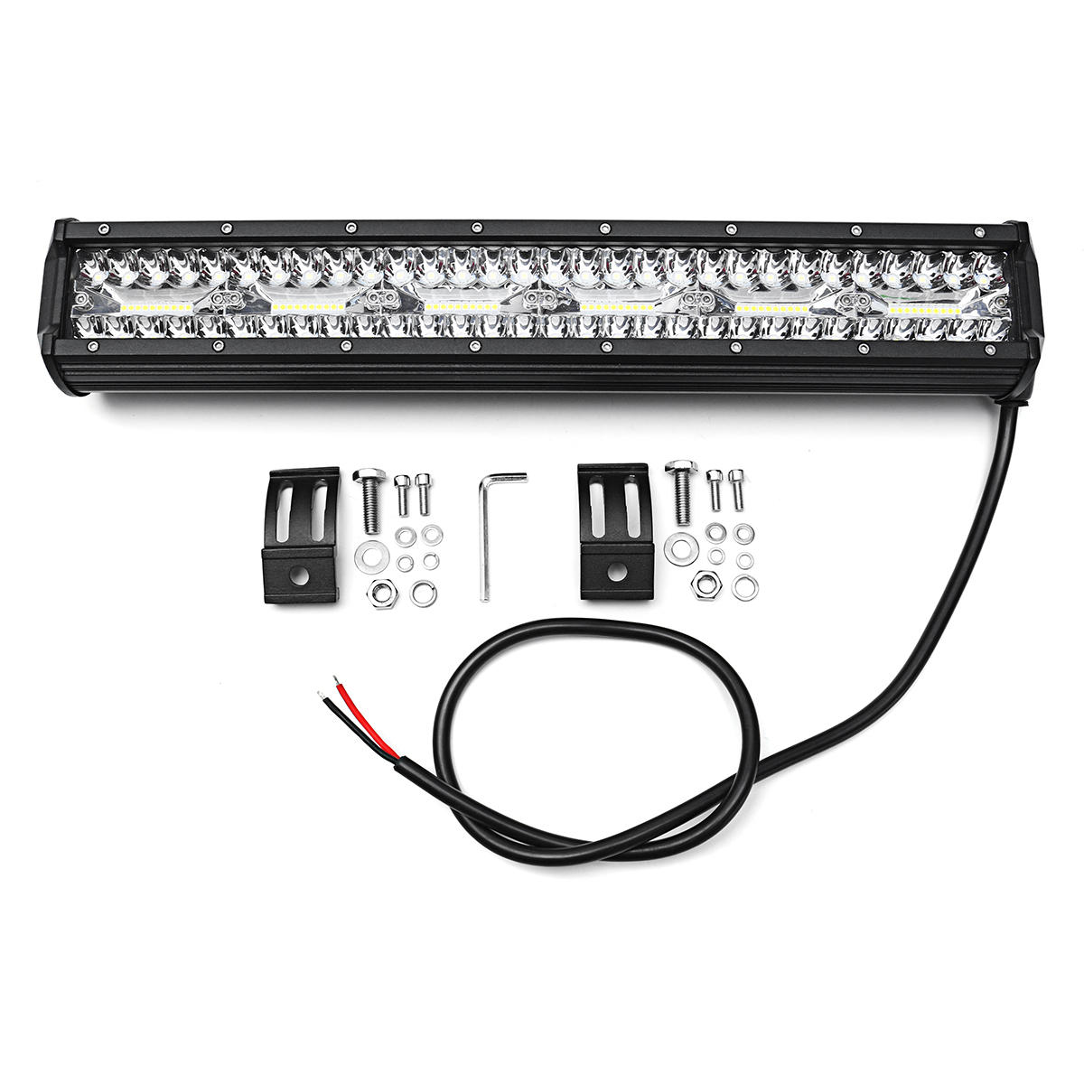 18inch 360w K Lm Ip68 120 Led Work Light Bar
