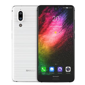 £140.05Global ROM SHARP AQUOS S2 5.5 Inch 4GB RAM 64GB ROM Snapdragon 630 Octa Core 2.2GHz 4G SmartphoneSmartphonesfromMobile Phones & Accessorieson banggood.com