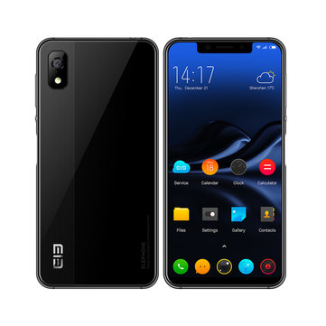 Elephone A4 5.85 Inch 18:9 Side Fingerprint Android 8.1 3GB 16GB MT6739 Quad Core 4GB Smartphone