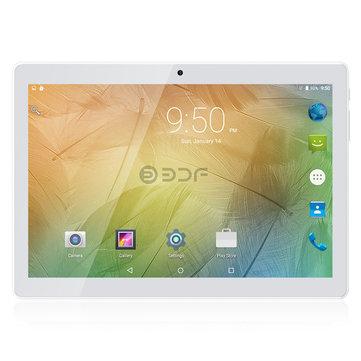 BDF 6580 MT6580M Quad Core 1GB RAM 32GB Android 6.0 10.1 Inch Dual SIM Tablet PC-Gold