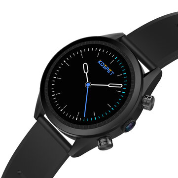Kospet Hope 3G+32GB|MIRROR BLACK|International4GLTE Watch Phone 1.39' AMOLED IP67 WIFI GPS/GLONASS 8.0MP Android7.1.1 Smart Watch Black