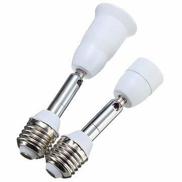 Vis E27 Souple Étendre Lumière De D'ampoule À Prise Convertisseur E14 L'adaptateur Lampe thrdsxQC