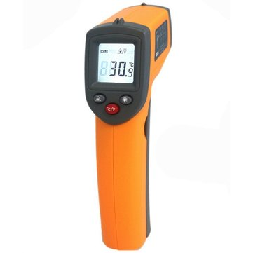 GS320 Laser Digital LCD IR Infrared Thermometer