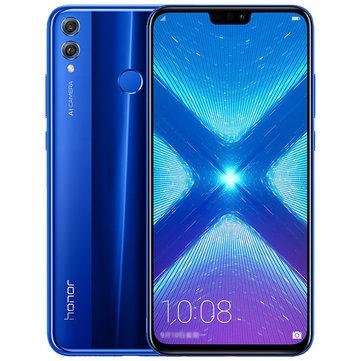 Huawei Honor 8X 20MP Dual Rear Camera 6.5 inch 6GB 64GB Kirin 710 Octa core 4G Smartphone