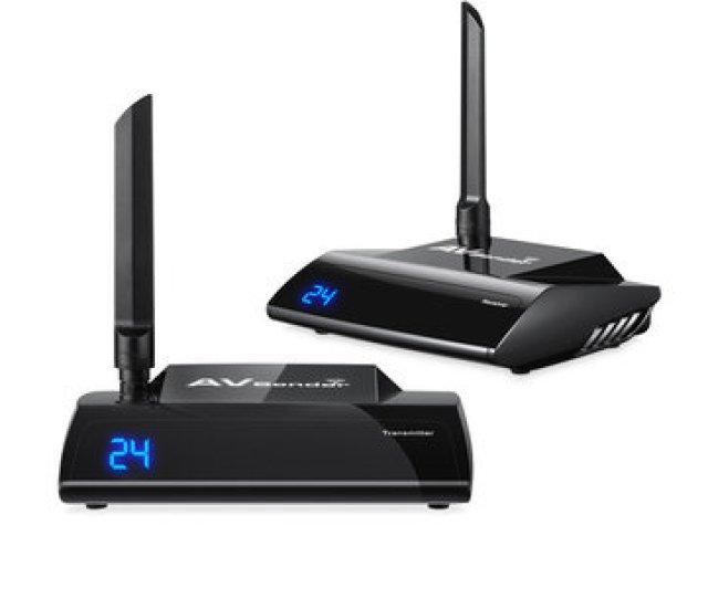 5 8ghz Wireless 300m Hd Multimedia Interface Av Transmitter Sender Tv Receiver Audio Video