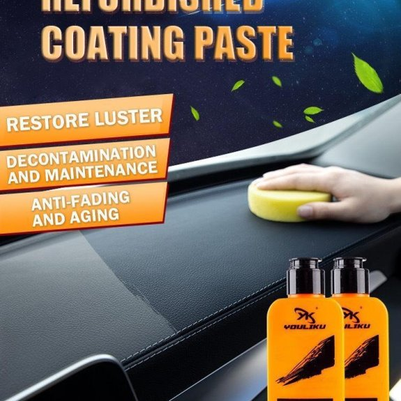 Refresh Aging Plastic and leather Surface