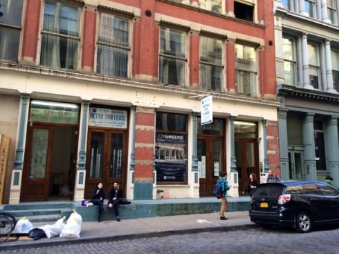 131, Greene Street - Première boutique physique Google
