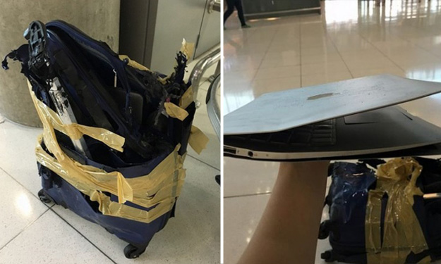 Budget Airline Offers Compensation For Passenger S Damaged