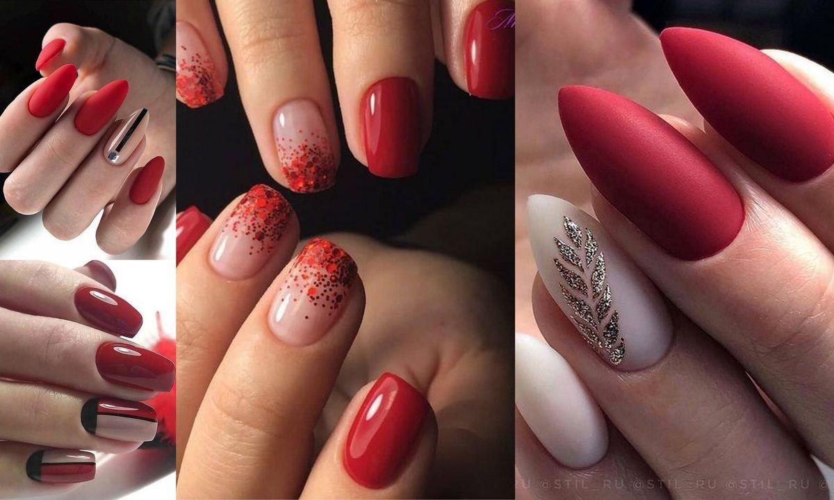 Czerwony Manicure Niezawodna Klasyka W Najpiekniejszych Odslonach
