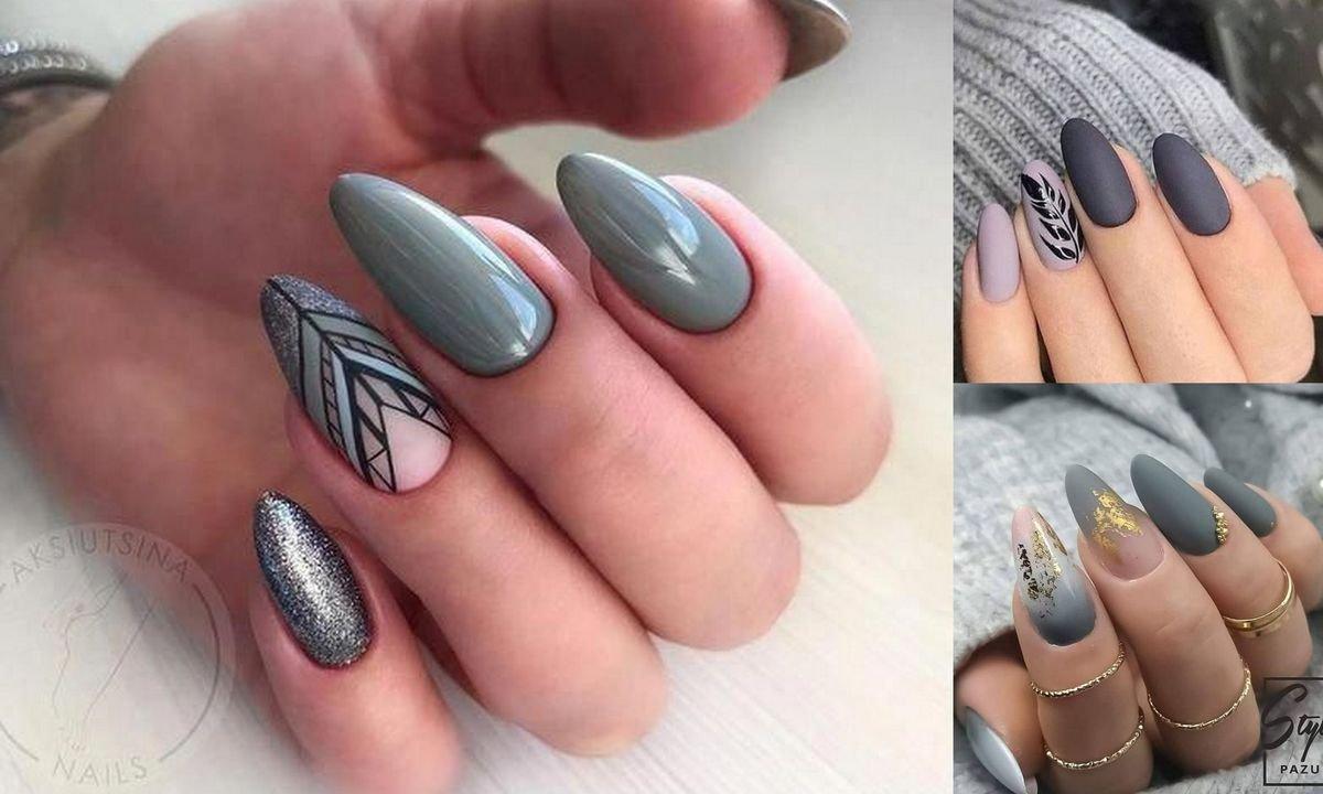 Szary Manicure Kilkanascie Ultraciekawych Stylizacji Z Sieci
