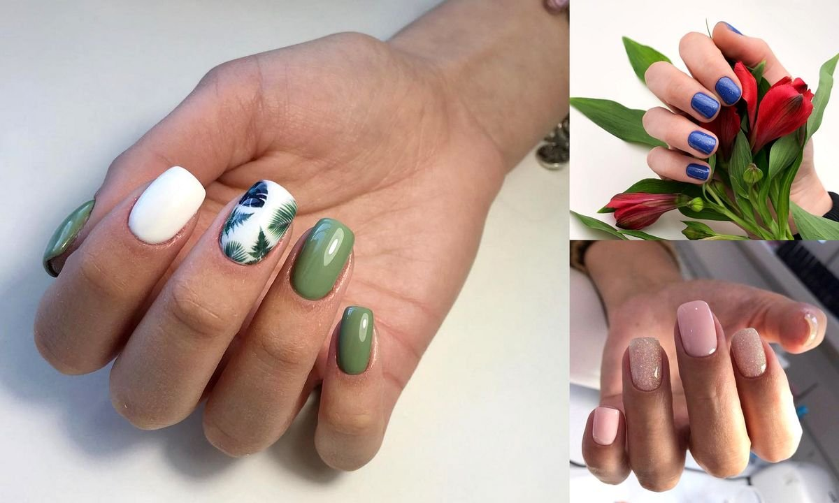 Wiosenny Manicure Dla Krotkich Paznokci 25 Najlepszych Stylizacji