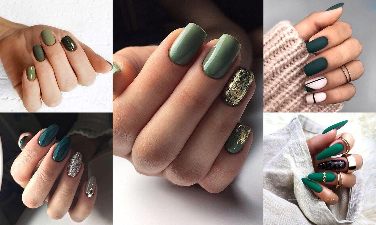 Zielony Manicure 20 Pomyslow Na Wiosenne Zdobienie Paznokci