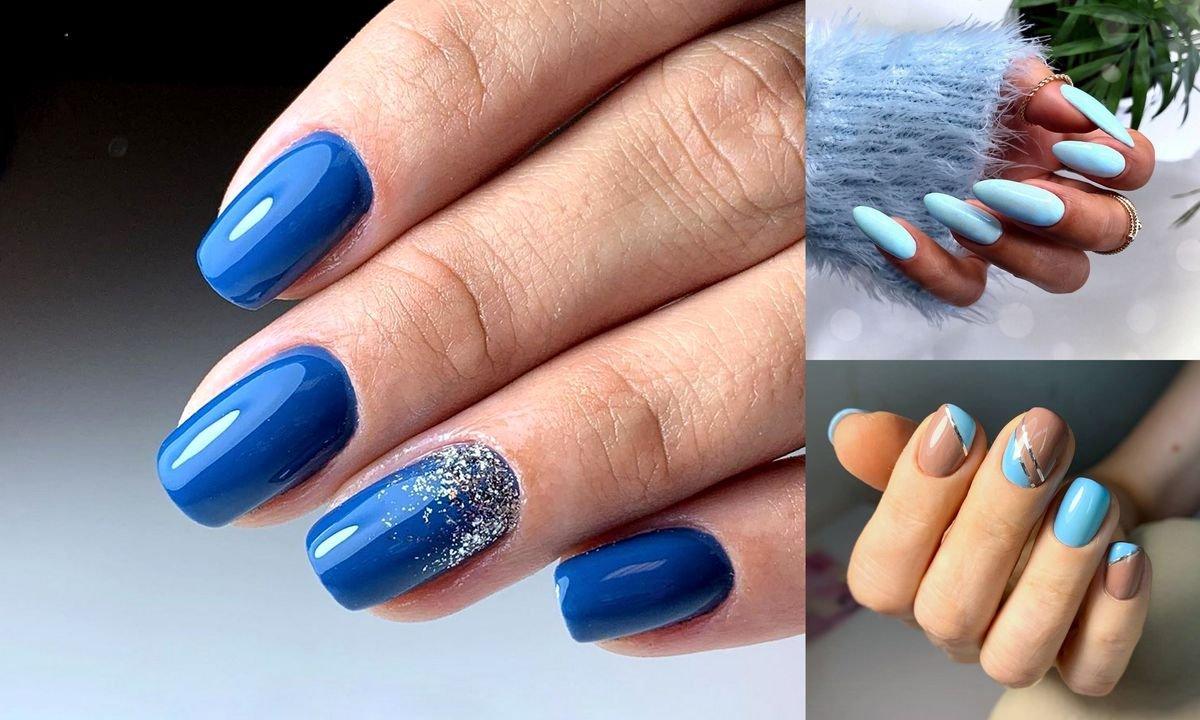 Niebieski Manicure Galeria Najlepszych Pomyslow