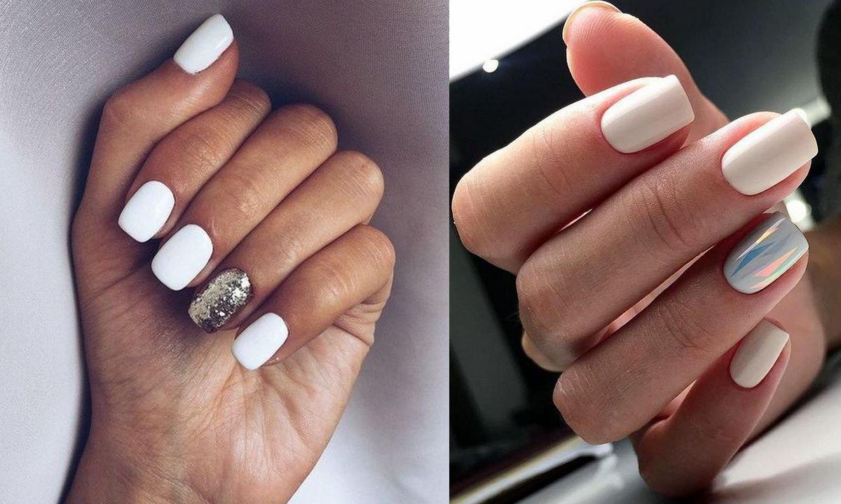 Bialy Manicure 20 Subtelnych I Gustownych Stylizacji
