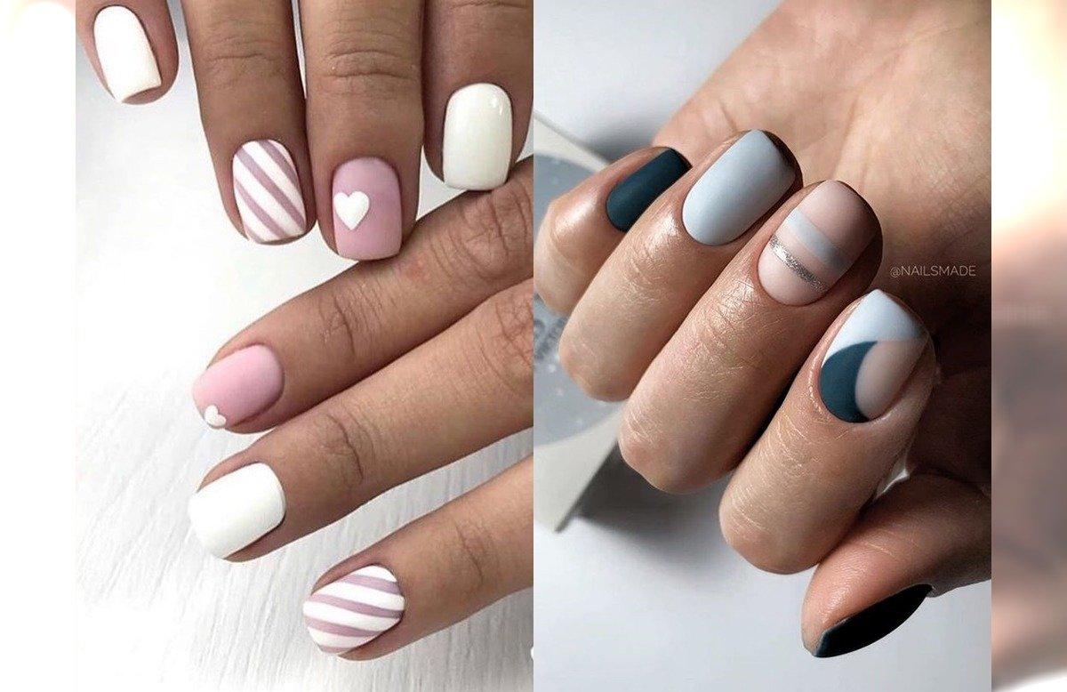 Krotki Manicure 24 Proste Pomysly Na Krotkie Paznokcie