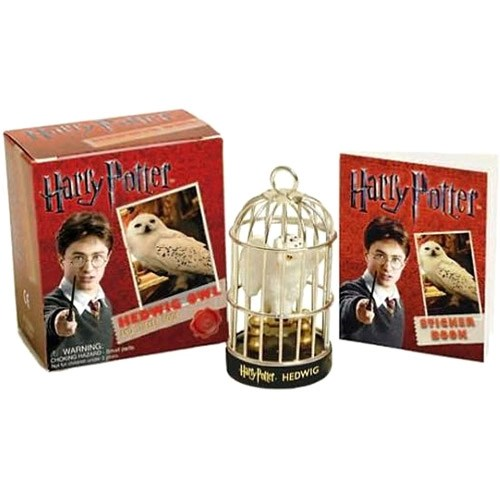 Livro - Harry Potter Hedwig Owl and Sticker Book